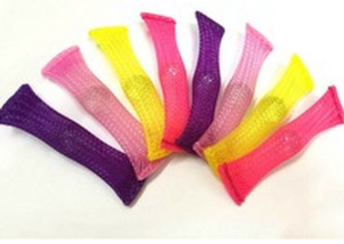 China VW-1 Mesh Sleeving Boinks Fidget Toys Tube / Children Toys / PET Toys tubes supplier