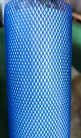 80mm  Blue Pe Net For Parts, 70 Mesh Protective Pe Mesh Netting, Extruded Protector Of Mesh Net