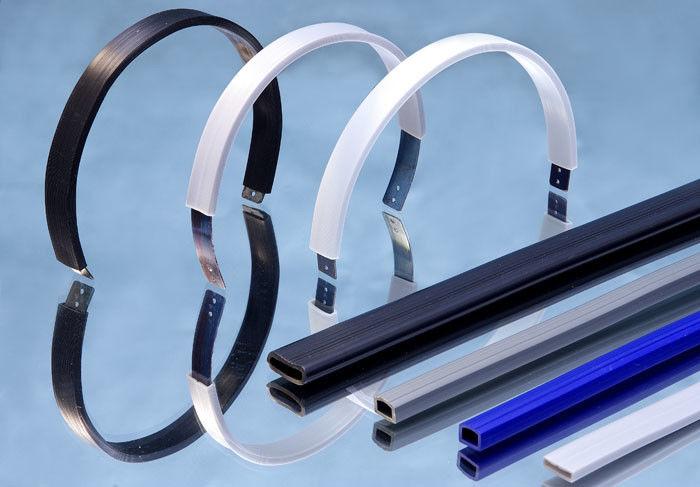 Flexible PVC Tubing For Headphone , Headphone Casing Soft PVC Tubing