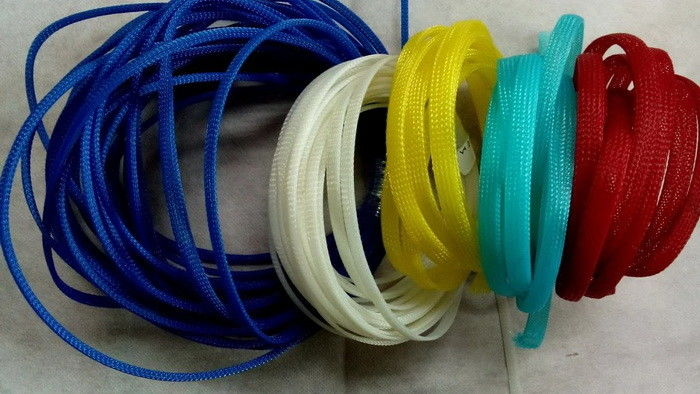 Multi-colored Expandable Wire Loom acKnitted Cable Socks ... on suspension sleeve, hollywood sleeve, exhaust sleeve, concrete sleeve, conduit sleeve, blue sleeve, paint sleeve, battery sleeve,