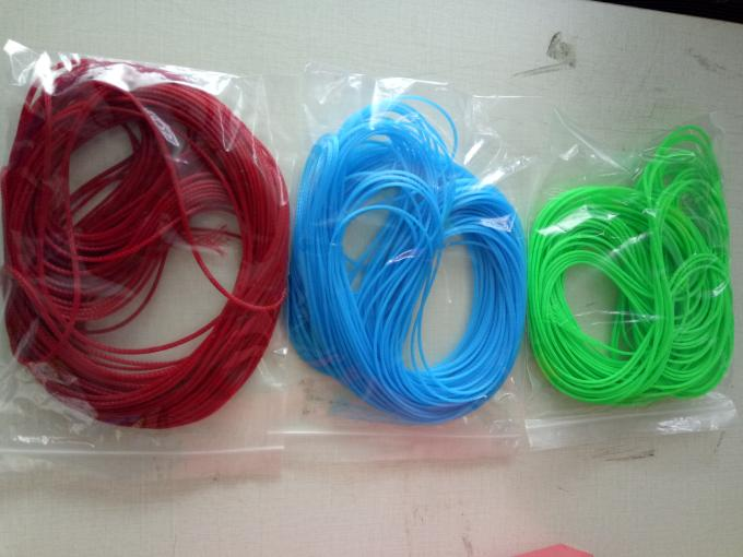 2MM PET Expandable Braided Sleeving High Tensile Strength For Fiber Optic Cable
