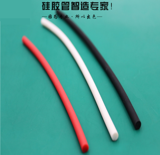 Food Grade Waterproof Flexible Silicone Tubing Solid Strip High Temperature Resistant