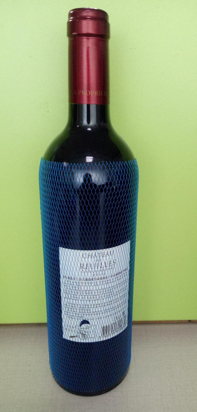 Non Toxic Protective Netting Sleeve Environmental Protection Material For Wine Bottle