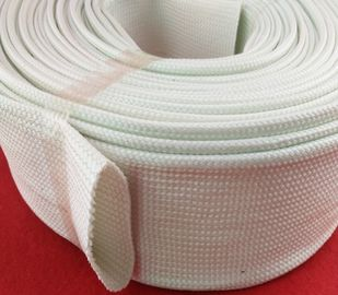 Extrusion Silicone Fiberglass Sleeving , Silicone Fiber Glass Sleeves